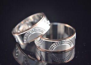 ЗЛАТНИ БИЖУТА Венчални Халки Венчални Халки от бяло и розово злато